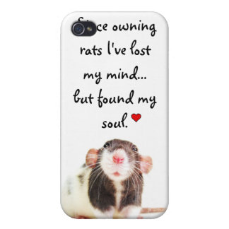 Since Owning Rats... iPhone 4 Case