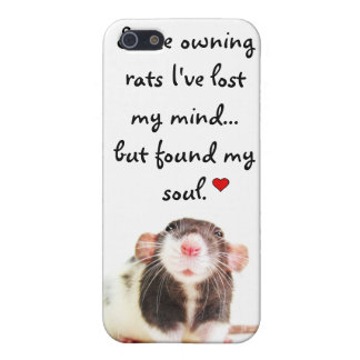 Since Owning Rats... Case For iPhone 5/5S