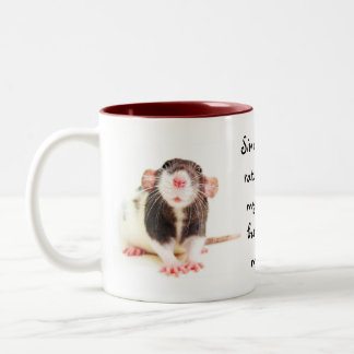 Since Owning Rats... Two-Tone Coffee Mug