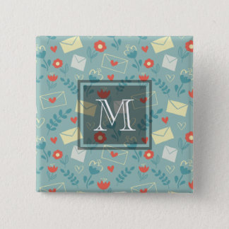 """""""Sincerely"""" 15 Cm Square Badge"""