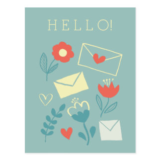 """Sincerely"" Postcard"