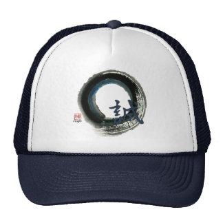 Sincerity Enso Sumi-e Mesh Hat
