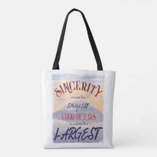 Sincerity Tote Bags