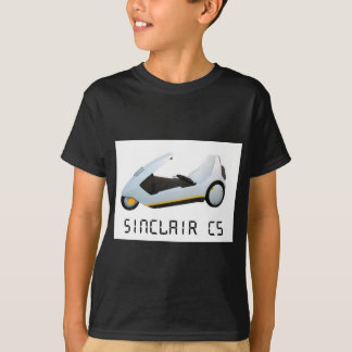 SINCLAIR C5 RETRO CAR T-Shirt