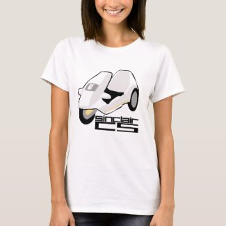 Sinclair C5 T-shirt for Women. S to 3XL