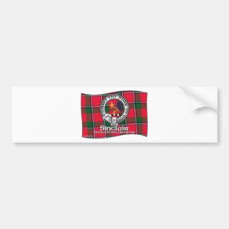 Sinclair  Clan Bumper Sticker