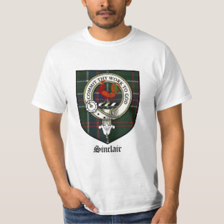 Sinclair Clan Crest Badge Tartan T-Shirt