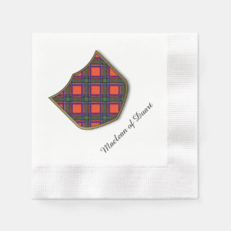 Sinclair clan Plaid Scottish tartan Paper Napkin
