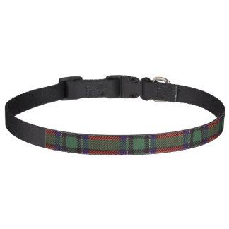 Sinclair clan Plaid Scottish tartan Pet Collar