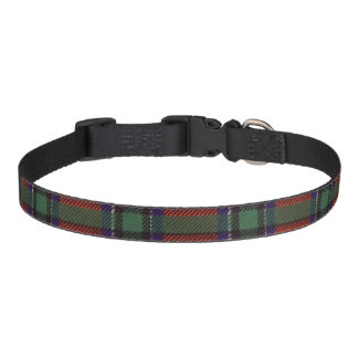Sinclair clan Plaid Scottish tartan Pet Collar