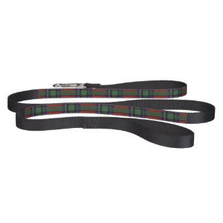Sinclair clan Plaid Scottish tartan Pet Leash