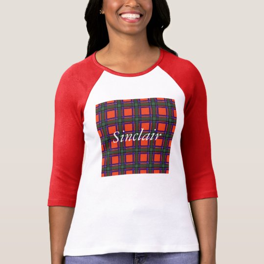 Sinclair clan Plaid Scottish tartan T-Shirt