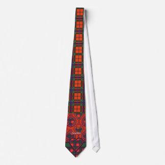 Sinclair clan Plaid Scottish tartan Tie