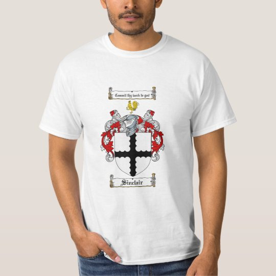 Sinclair Family Crest - Sinclair Coat of Arms T-Shirt