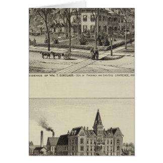 Sinclair Residence, Kansas Card