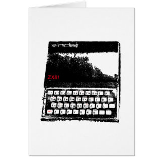 Sinclair ZX81 Card