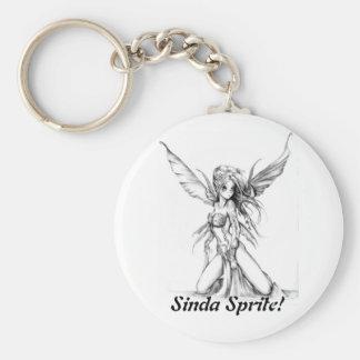 Sinda Sprite! - Keychain Basic Round Button Keychain