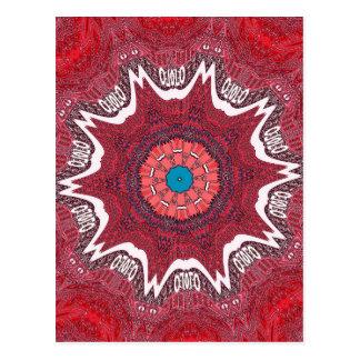 Sindh ethnic tribal pattern.jpg postcard