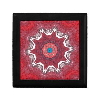 Sindh ethnic tribal pattern.jpg small square gift box