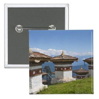 Sindokha Dzong, Dochu La Pass 2 15 Cm Square Badge