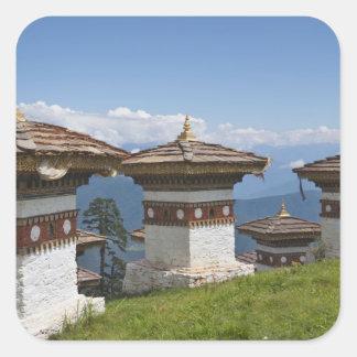 Sindokha Dzong, Dochu La Pass 2 Square Stickers