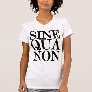 Sine Qua Non Latin Quote Ladies Singlet Shirt