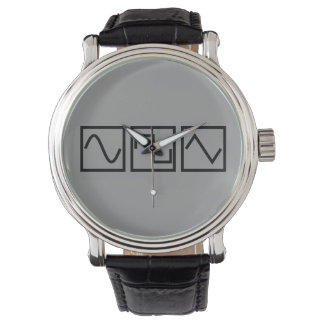 Sine Square Tri Watch