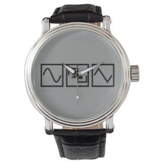 Sine Square Tri Wristwatch