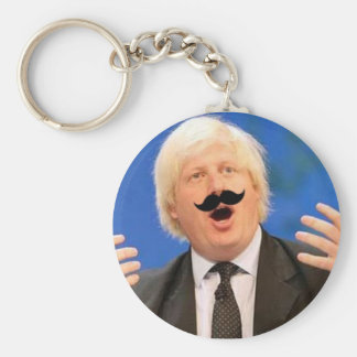 Sing-a-long Boris Basic Round Button Key Ring