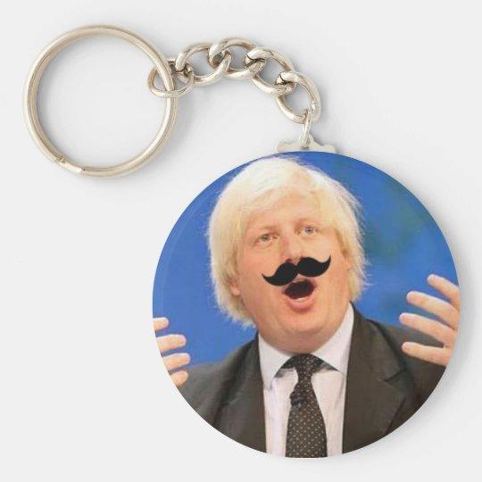 Sing-a-long Boris Basic Round Button Key Ring