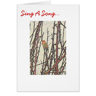 Sing A Song Card