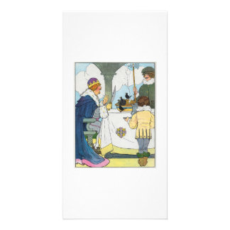 Sing a song of sixpence A pocket full of rye Picture Card