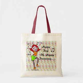 Sing Happy Day tote