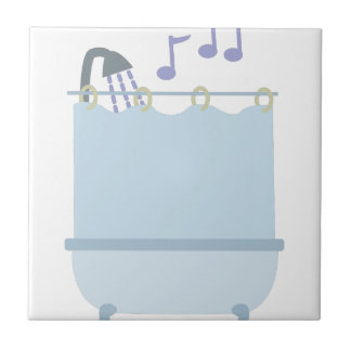 Sing In Shower Small Square Tile
