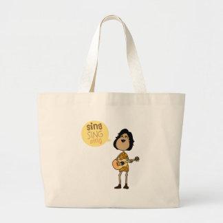 Sing Jumbo Tote Bag