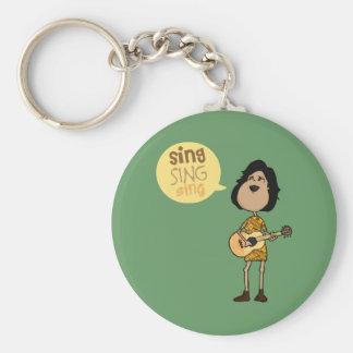 Sing Keychain