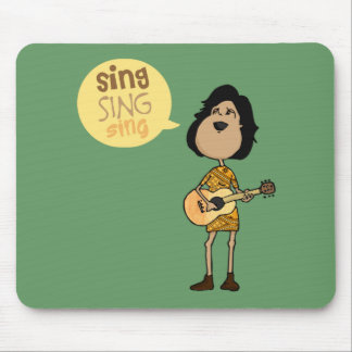 Sing Mouse Pad