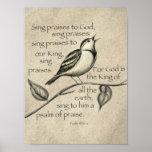 Sing praise! poster