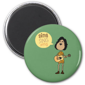 Sing Refrigerator Magnet