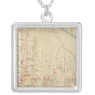 Sing Sing, New York Silver Plated Necklace