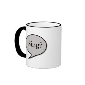 Sing?, Song! Coffee Mug