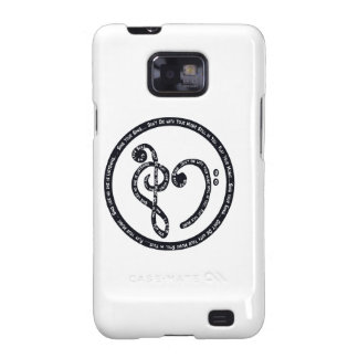 Sing Your Song Play the Music Within You Samsung Galaxy S Case