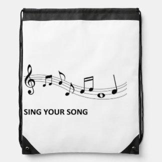 Sing Your Song Rucksacks