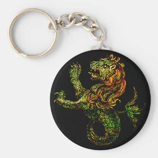 Singa-Laut Dark Keychain
