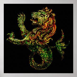 Singa-Laut Dark Print