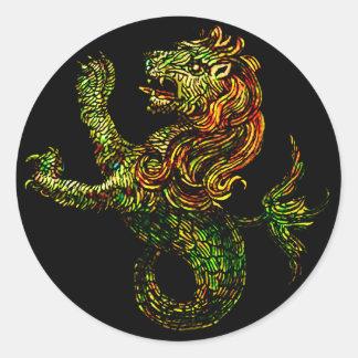 Singa-Laut Dark Sticker