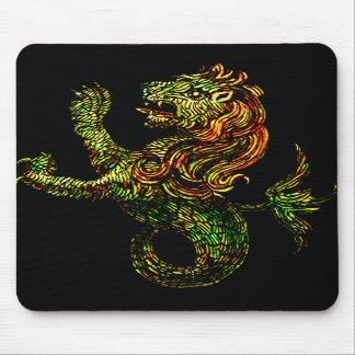 Singa-Laut Mousepad Dark