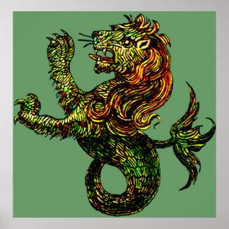 Singa-Laut Print