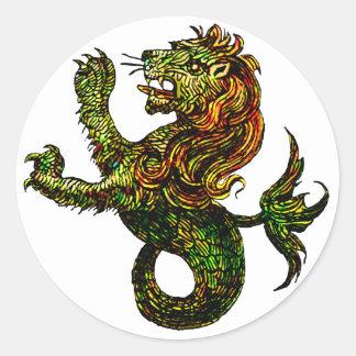 Singa-Laut Sticker