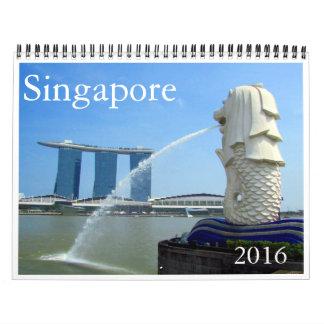 singapore 2016 wall calendars